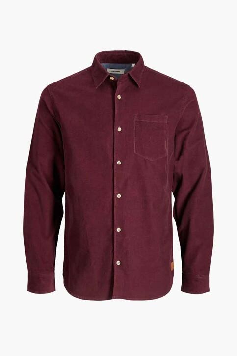 ORIGINALS BY JACK & JONES Hemden (lange mouwen) bordeaux 12188929_PORT ROYALE FIT img7