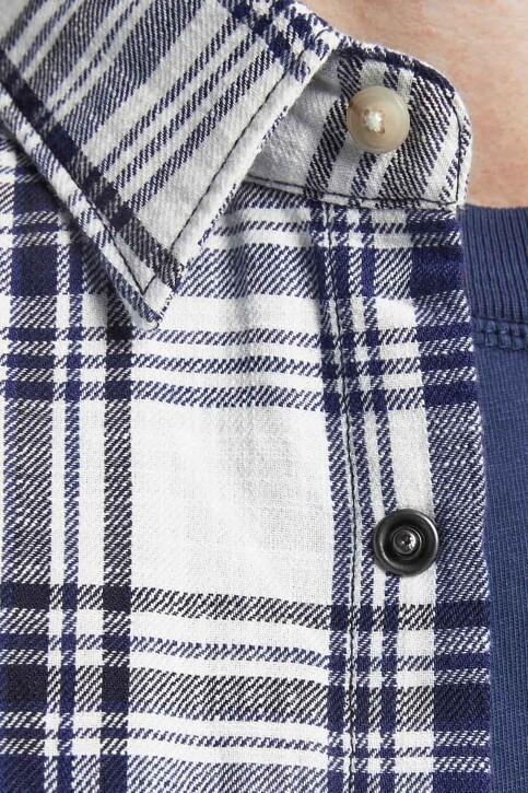 PREMIUM BLUE by JACK & JONES Hemden (lange mouwen) wit 12188946_CLOUD DANCER CH img3
