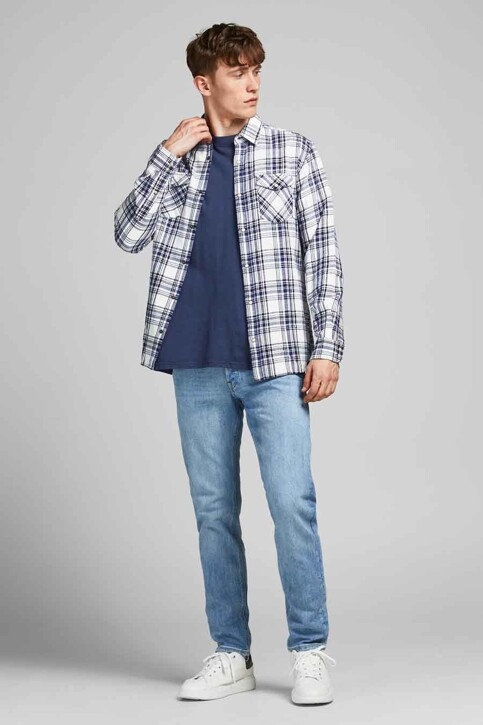 PREMIUM BLUE by JACK & JONES Hemden (lange mouwen) wit 12188946_CLOUD DANCER CH img6