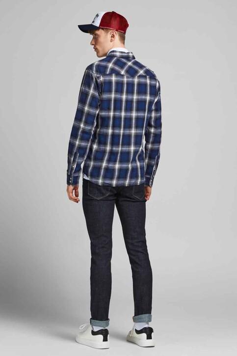 PREMIUM BLUE by JACK & JONES Hemden (lange mouwen) blauw 12188946_NAVY BLAZER CHE img2