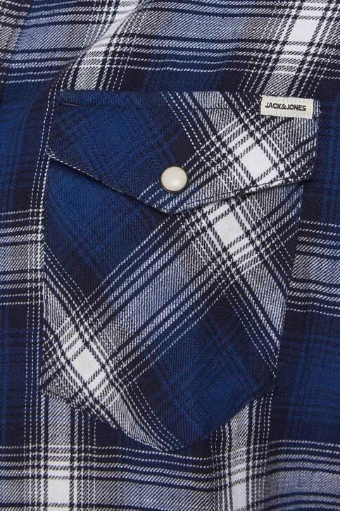 PREMIUM BLUE by JACK & JONES Hemden (lange mouwen) blauw 12188946_NAVY BLAZER CHE img4