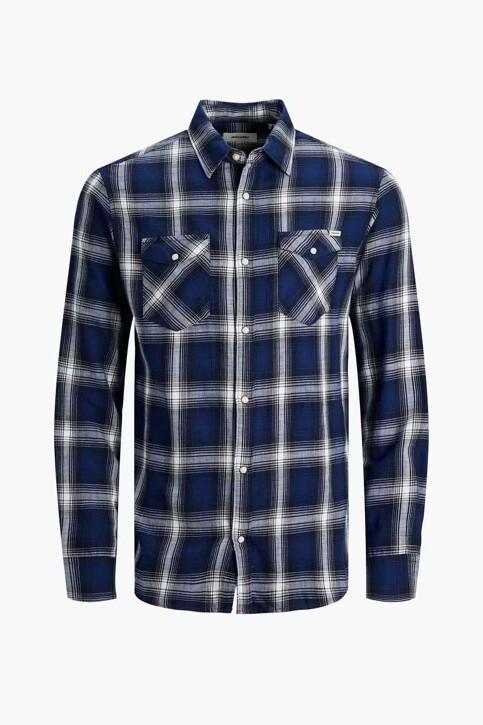 PREMIUM BLUE by JACK & JONES Hemden (lange mouwen) blauw 12188946_NAVY BLAZER CHE img7