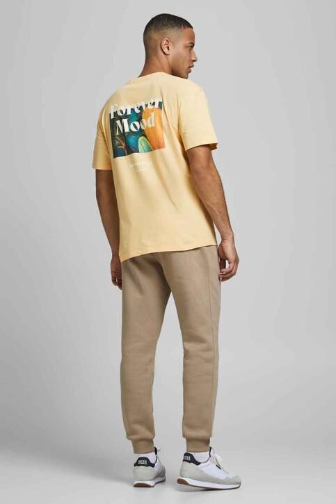ORIGINALS BY JACK & JONES T-shirts (korte mouwen) geel 12188950_SAHARA SUN RELA img2