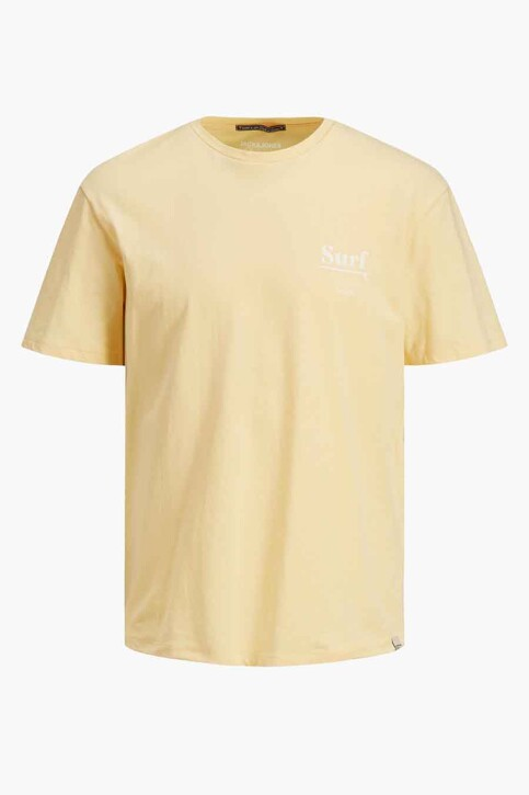 ORIGINALS BY JACK & JONES T-shirts (korte mouwen) geel 12188950_SAHARA SUN RELA img7