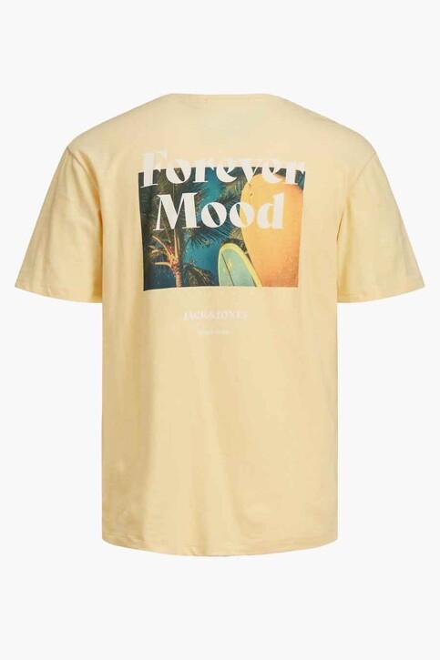 ORIGINALS BY JACK & JONES T-shirts (korte mouwen) geel 12188950_SAHARA SUN RELA img8