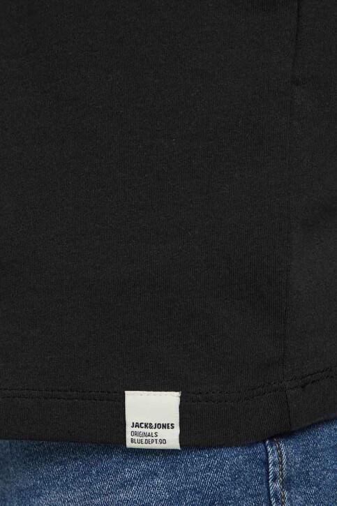 ORIGINALS BY JACK & JONES T-shirts (korte mouwen) zwart 12188950_TAP SHOE RELAXE img4