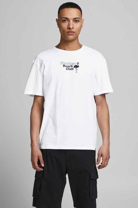 ORIGINALS BY JACK & JONES T-shirts (korte mouwen) wit 12188950_WHITE RELAXED img1