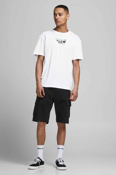 ORIGINALS BY JACK & JONES T-shirts (korte mouwen) wit 12188950_WHITE RELAXED img5