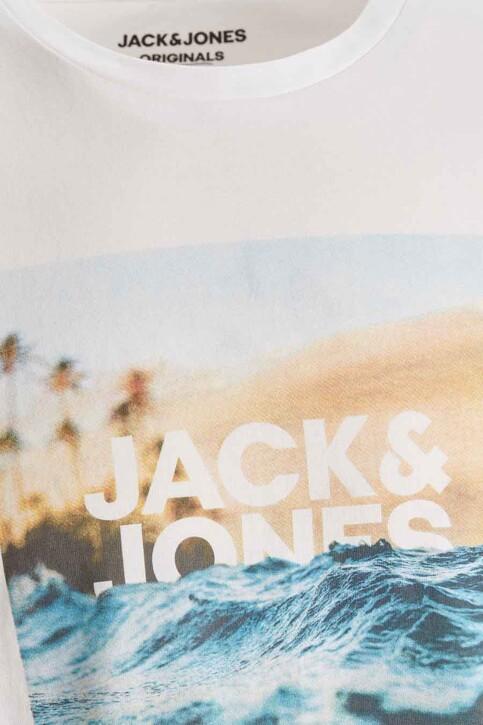 ORIGINALS BY JACK & JONES T-shirts (korte mouwen) wit 12189032_CLOUD DANCER RE img1