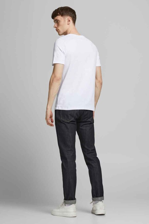 CORE BY JACK & JONES T-shirts (korte mouwen) wit 12189209_WHITE SLIM img3