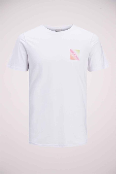 CORE BY JACK & JONES T-shirts (korte mouwen) wit 12189209_WHITE SLIM img5