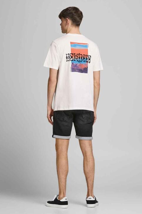 ORIGINALS BY JACK & JONES T-shirts (korte mouwen) wit 12189726_CLOUD DANCER OV img3