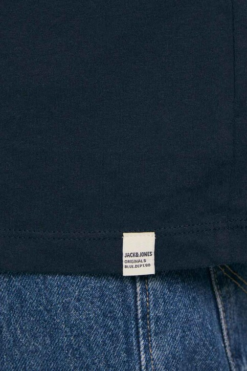 ORIGINALS BY JACK & JONES T-shirts (korte mouwen) blauw 12189726_NAVY BLAZER OVE img3