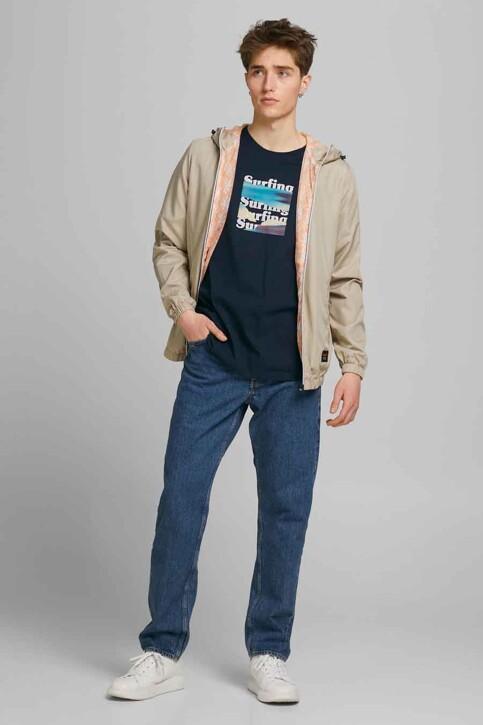ORIGINALS BY JACK & JONES T-shirts (korte mouwen) blauw 12189726_NAVY BLAZER OVE img5