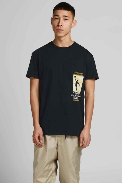 CORE BY JACK & JONES T-shirts (korte mouwen) zwart 12189735_BLACK RELAXED img1