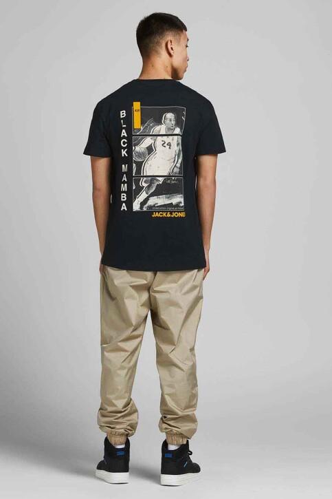 CORE BY JACK & JONES T-shirts (korte mouwen) zwart 12189735_BLACK RELAXED img2