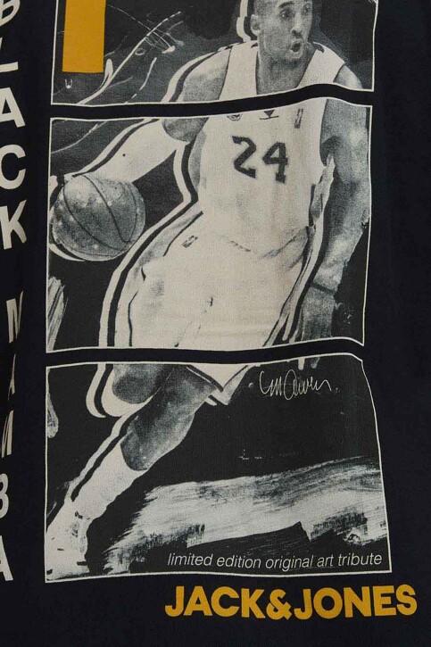 CORE BY JACK & JONES T-shirts (korte mouwen) zwart 12189735_BLACK RELAXED img4