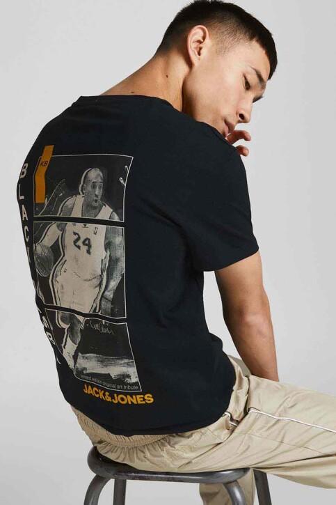 CORE BY JACK & JONES T-shirts (korte mouwen) zwart 12189735_BLACK RELAXED img5