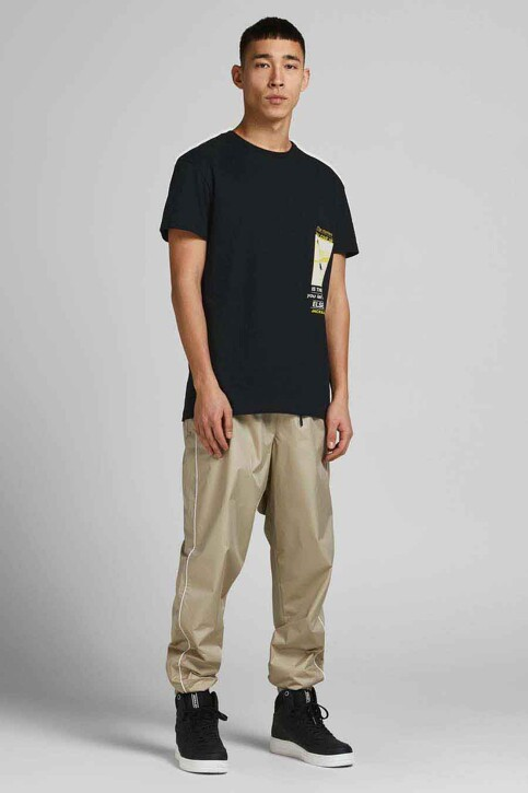 CORE BY JACK & JONES T-shirts (korte mouwen) zwart 12189735_BLACK RELAXED img6