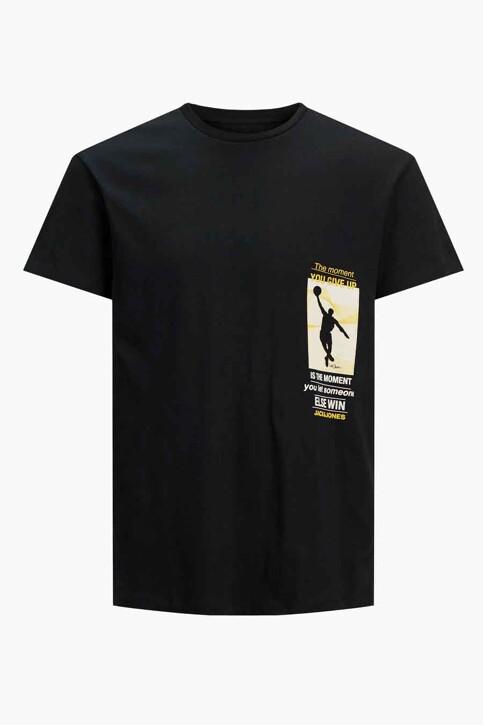 CORE BY JACK & JONES T-shirts (korte mouwen) zwart 12189735_BLACK RELAXED img7