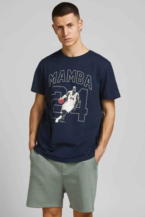 CORE BY JACK & JONES T-shirts (korte mouwen) blauw 12189735_NAVY BLAZER REL img1