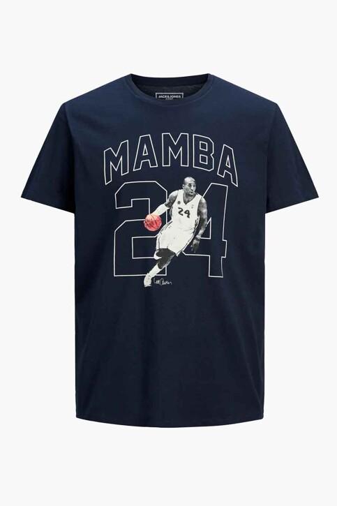 CORE BY JACK & JONES T-shirts (korte mouwen) blauw 12189735_NAVY BLAZER REL img7