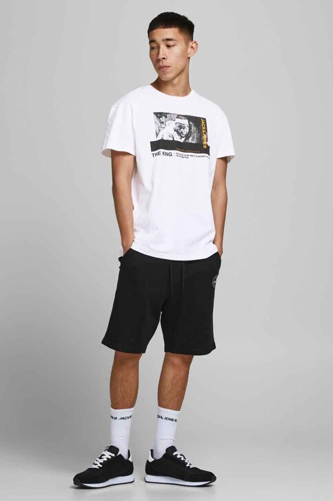 CORE BY JACK & JONES T-shirts (korte mouwen) wit 12189735_WHITE RELAXED img1