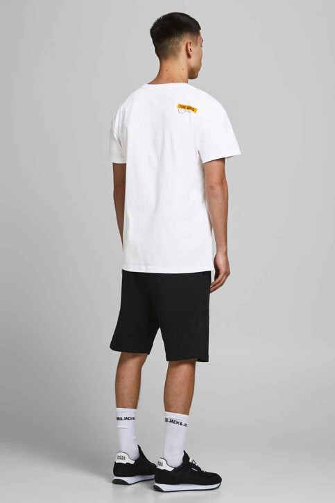 CORE BY JACK & JONES T-shirts (korte mouwen) wit 12189735_WHITE RELAXED img5
