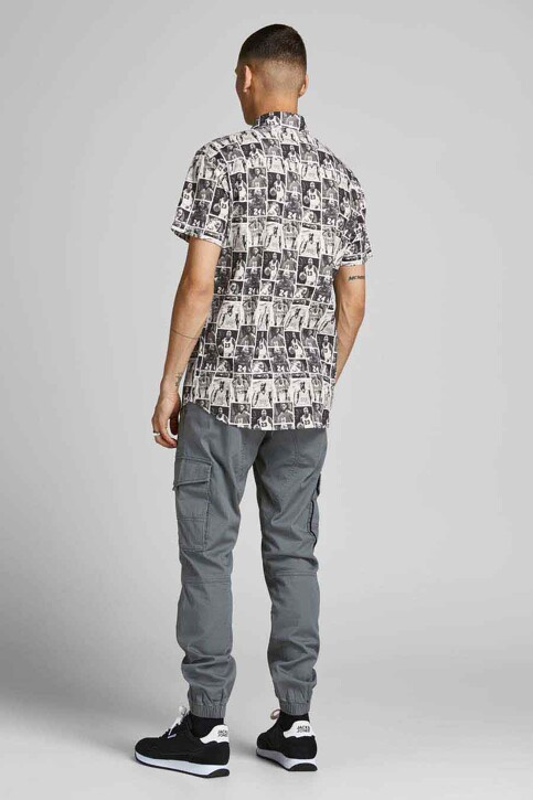 CORE BY JACK & JONES Hemden (korte mouwen) zwart 12189759_BLACK img2
