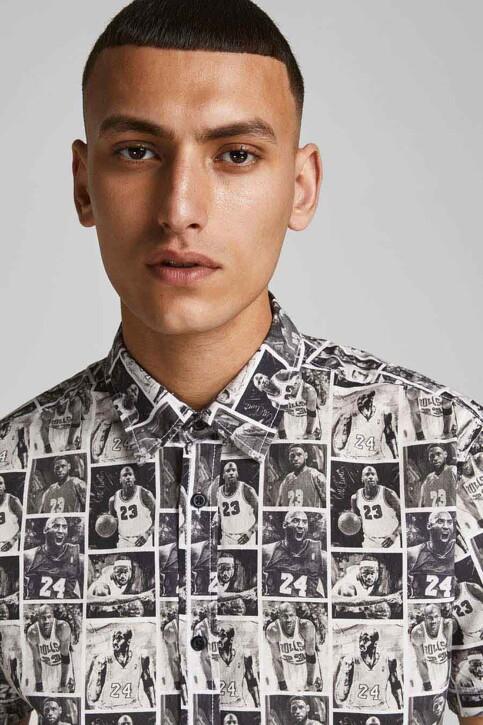 CORE BY JACK & JONES Hemden (korte mouwen) zwart 12189759_BLACK img3
