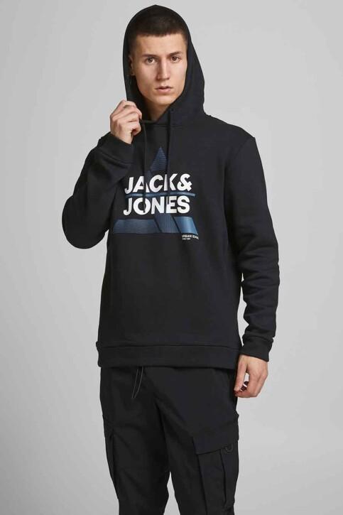 CORE BY JACK & JONES Sweaters met kap zwart 12189902_BLACK img2