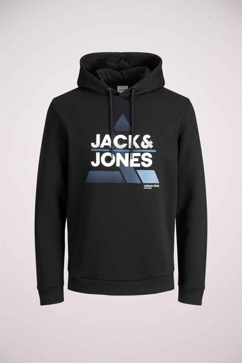 CORE BY JACK & JONES Sweaters met kap zwart 12189902_BLACK img4