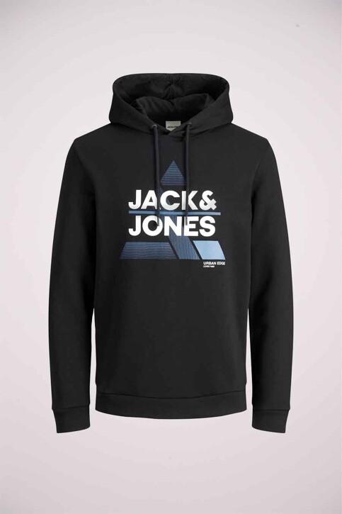 CORE BY JACK & JONES Sweaters met kap zwart 12189902_BLACK img5