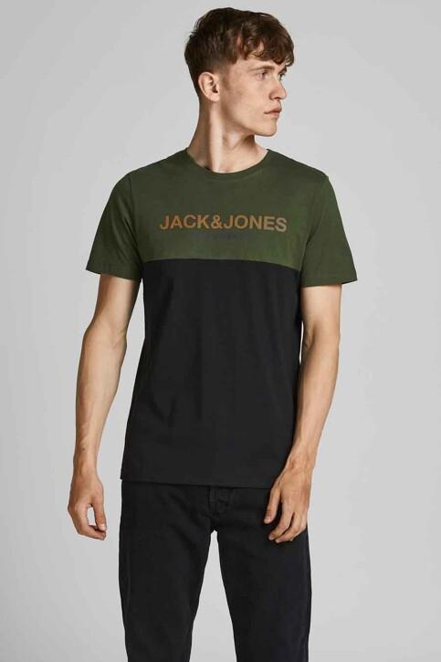 CORE BY JACK & JONES T-shirts (korte mouwen) groen 12190452_FOREST NIGHT HA img1