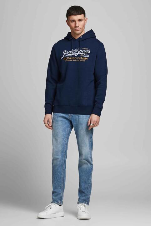 PREMIUM BLUE by JACK & JONES Sweaters met kap blauw 12191690_NAVY BLAZER img2