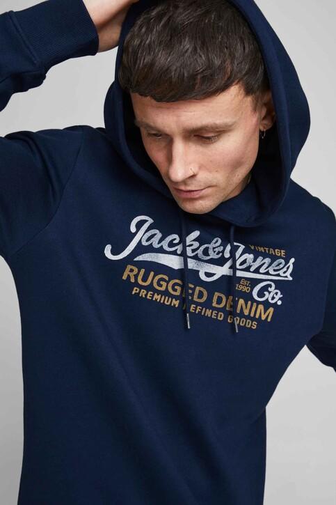 PREMIUM BLUE by JACK & JONES Sweaters met kap blauw 12191690_NAVY BLAZER img4
