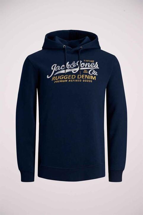 PREMIUM BLUE by JACK & JONES Sweaters met kap blauw 12191690_NAVY BLAZER img5