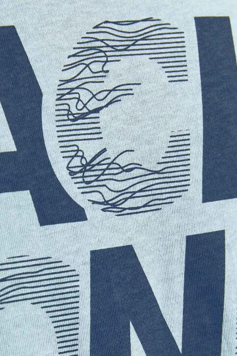 CORE BY JACK & JONES T-shirts (korte mouwen) blauw 12191974_DUSTY BLUE SLIM img4