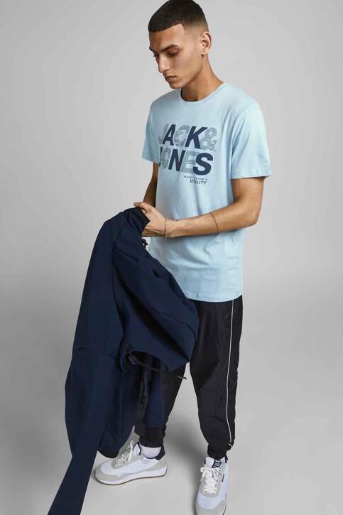 CORE BY JACK & JONES T-shirts (korte mouwen) blauw 12191974_DUSTY BLUE SLIM img6