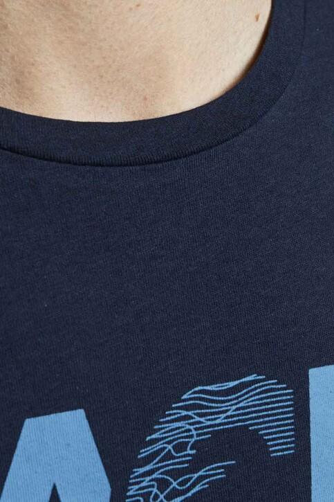 CORE BY JACK & JONES T-shirts (korte mouwen) blauw 12191974_NAVY BLAZER SLI img4