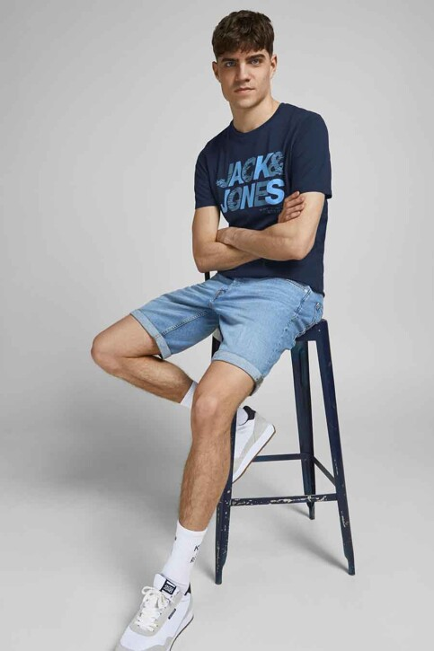 CORE BY JACK & JONES T-shirts (korte mouwen) blauw 12191974_NAVY BLAZER SLI img5