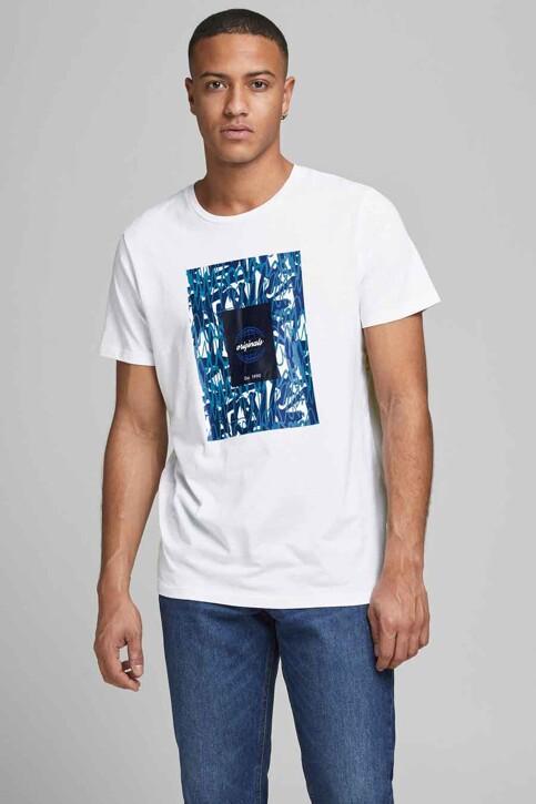 ORIGINALS BY JACK & JONES T-shirts (korte mouwen) wit 12192586_WHITE img1