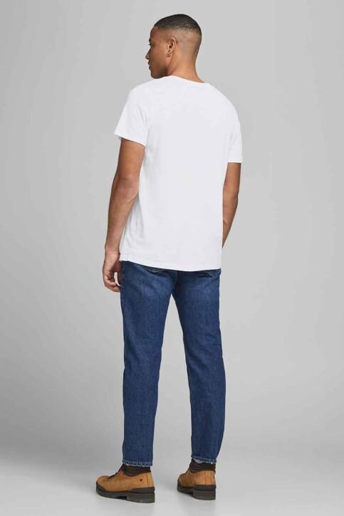 ORIGINALS BY JACK & JONES T-shirts (korte mouwen) wit 12192586_WHITE img2