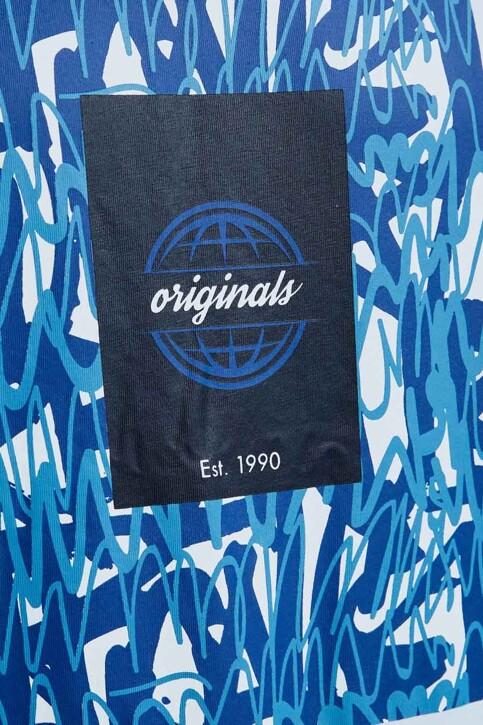 ORIGINALS BY JACK & JONES T-shirts (korte mouwen) wit 12192586_WHITE img4