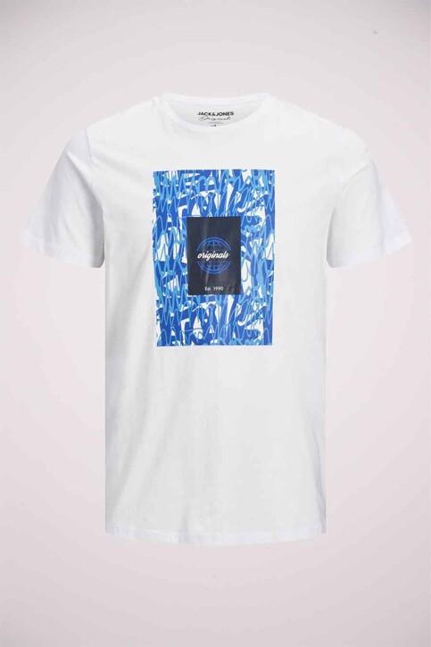 ORIGINALS BY JACK & JONES T-shirts (korte mouwen) wit 12192586_WHITE img7