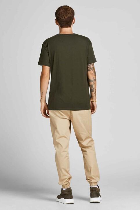 CORE BY JACK & JONES T-shirts (korte mouwen) KHAKI 12192775_FOREST NIGHT img2