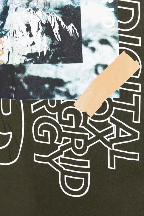 CORE BY JACK & JONES T-shirts (korte mouwen) KHAKI 12192775_FOREST NIGHT img4
