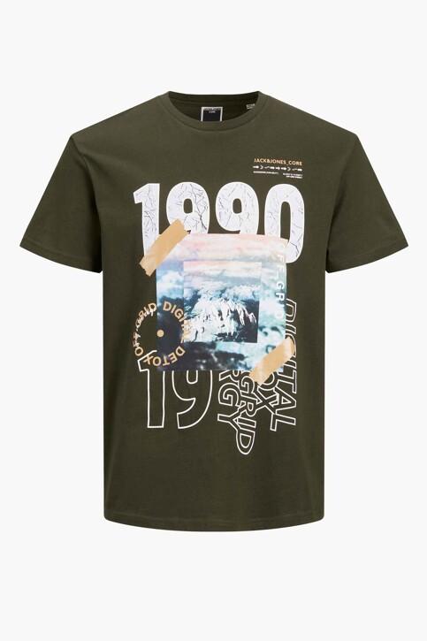 CORE BY JACK & JONES T-shirts (korte mouwen) KHAKI 12192775_FOREST NIGHT img7