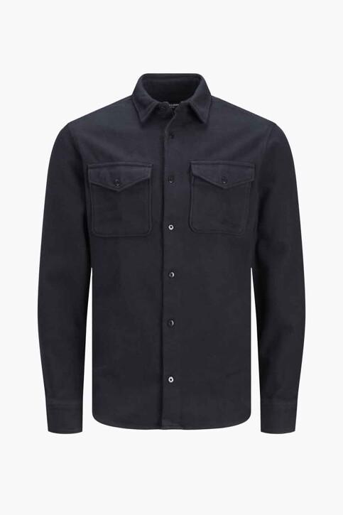 PREMIUM BLUE by JACK & JONES Hemden (lange mouwen) blauw 12193438_DEEP WELL img7