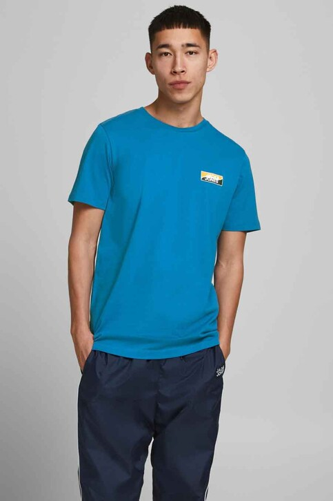CORE BY JACK & JONES T-shirts (korte mouwen) blauw 12193441_DEEP WATER SLIM img1